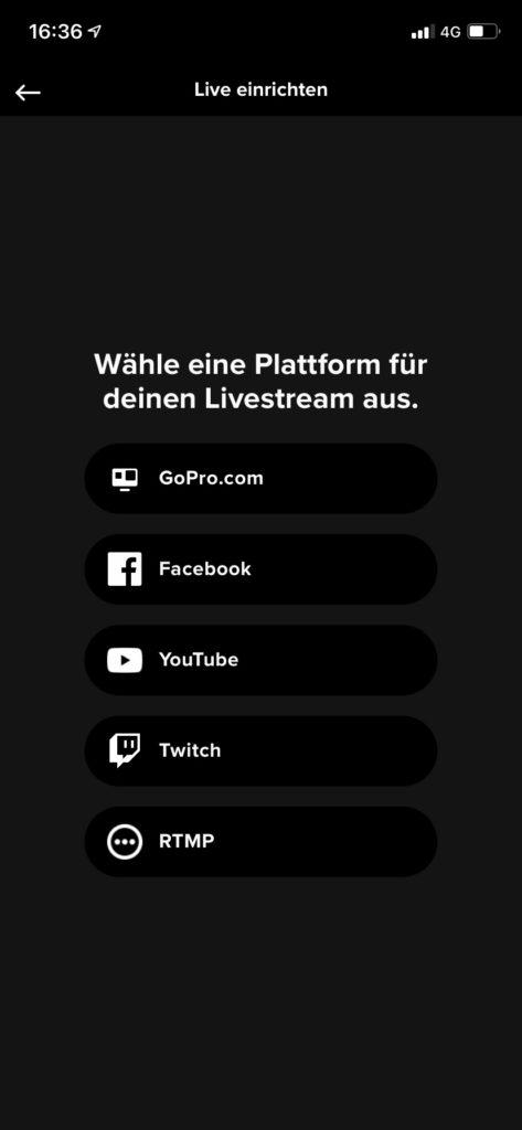 GoPro Livestream