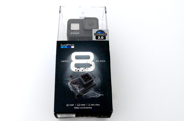 Test GoPro Hero 8 black