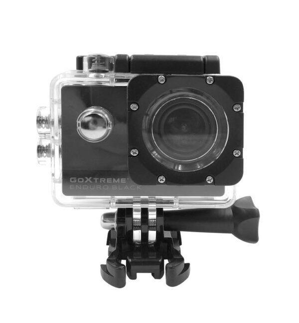 Actioncam Enduro Black, 170° Weitwinkel, Wasserfest bis 30m, 8MP Sensor